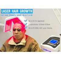 Buy cheap Painless Diode Laser Hair Growth Machine With Hair Rejuvenation Therapy For Hair Loss product