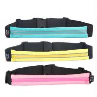 China Waterproof Hiking Money Travel Waist Bag For Sport 40*5.5 Cm wholesale