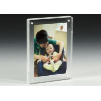China Clear Acrylic OEM Factory Custom Picture Frames With Magnetics wholesale