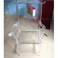 China Clear Eco-Friendly Modern Acrylic Furniture For Office , Acrylic Desk Chair wholesale