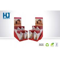 China Recyclable Advertising Portable Cardboard Counter Display Boxes For Medicine wholesale