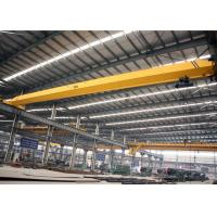 China Industrial Overhead Crane Single Girder , Monorail Bridge Crane 2 Ton With Hook wholesale