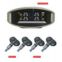 China TPMS Automatic Tire Pressure Monitoring System with LED Display 4 Built-in Sensors wholesale