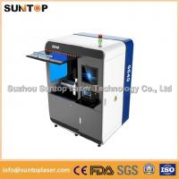 China Small size metal laser cutting machine , Fiber laser cutting equipment wholesale