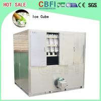 China 3 Ton Portable Ice Cube Machine With Germany Bitzer Compressor wholesale