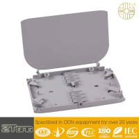 Quality Two Layer Structure Fiber Management Tray With FC/SC/LC Adaptor Rainproof for sale