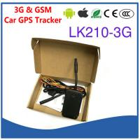 Quality 3G WCDMA & Quad-Band GSM Car Vehicle GPS Tracker LK210-3G Cut-off Oil & Power remotely by SMS & Free PC/APP Tracking for sale
