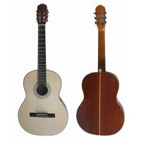 Quality 39 inch 4/4 Bleach Spruce Top Sapele Back Wood Classical Guitar CG3921-B for sale