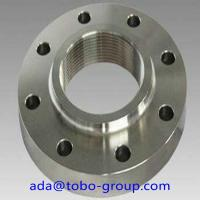 "China A182 F316/L Forged Steel Flanges 1/2"" SCH40S SW Flange ISO9000 Certification wholesale"