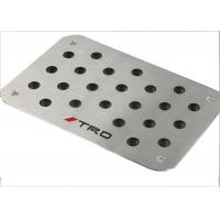 Quality Strong Skid Resistance Car Pedal Replacement With Brushed Aluminum Construction for sale