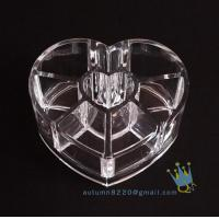 China clear jewelry organizer wholesale