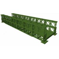 Buy cheap Ot Dip Galvanized Green Temporary Bailey Bridge Q345B-Q460 Grade Steel from wholesalers
