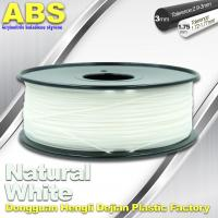 China Good eEasticity 3D Printing Materials Transparent ABS Filament For Cubify Printer wholesale
