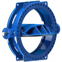 China Stainless Steel Disc Ring Double Eccentric Butterfly Valve Wore Gear Operated wholesale