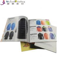 China Matt Finish Softcover Book Catalogue Pamphlet Printing Services Multi - Color wholesale