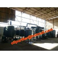 China New Sale Black Oil Recycling Equipment,Car Engine Oil Distillation Equipment on sale