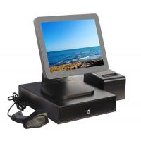 China Aluminium Alloy Point Of Sale Touch Screen Computer With Thermal Printer And Cash Drawer wholesale