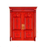 China Factory price modern design solid wood doors , finihed surface finishing wooden door wholesale