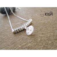 China 925 sterling silver necklace with zircon W-VD193 wholesale