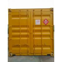 Quality Hazardous Waste Storage Buildings Chemical Locker For Gas Cylinder / Oil Drum for sale