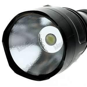 China Soft brightness Stainless steel 10Watt 700 lumens SSC P7 high powered led flashlight on sale