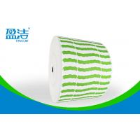 China Green Color  Printed Paper Roll ,Width Of 835mm For 9 OZ Paper Cups wholesale