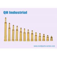 China Spring Loade Pin,SMD SMT Type Roll Form Gold Plated 1A 2A 3A Pogo Pin For E-Cigarette Hot Sale in Euro on sale