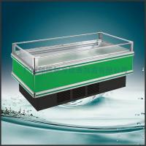 China R22 / R404a Supermarket Open Top Island Freezer / Single Island 1500 * 1080 * 950 wholesale