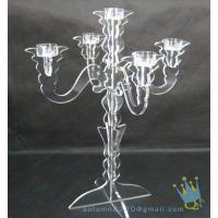 China Wedding Decoration Candle Holders In Acrylic wholesale