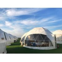China European Style Outdoor Canopy Geo Dome Tent 5m Diameter Exhibition Dome wholesale