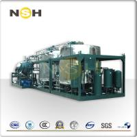 China High Efficiency Used Engine Oil Recycling Machine , Stainless Steel Used Oil Recycling Machine on sale