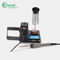 China High Power Anti Static Adjustable Temperature Soldering Station Green 926LED 60W wholesale