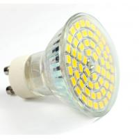 China Aluminum glass led spot light GU10 AC85-265V E27 bulb 60pcs SMD2835 new down indoor lamp wholesale