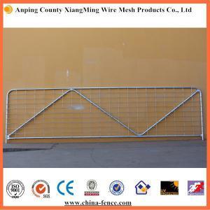 China China galvanized farm gate ranch gates livestock gates metal farm gates on sale