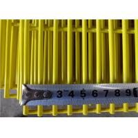 China 358 Fence Security Wire Mesh Fence PVC Coated Galvanized 4 . 0 MM Wire Diameter on sale