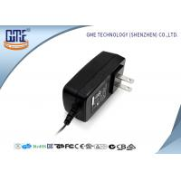 China Universal AC DC Switching Power Adapter 24W Two US PIN With Indicator Light wholesale