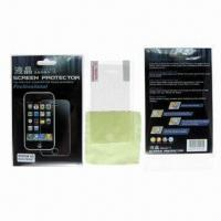China Dust-proof Screen Protectors for Apple's iPhone 4G, with High Transparency and Anti-fingerprint on sale