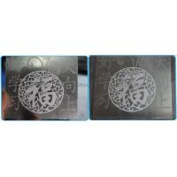 For aluminum plate & cylinder marking
