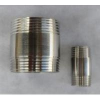 China Chinese manufacturer stainless steel pipe nipples on sale