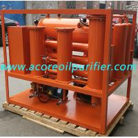 China Vacuum Oil Purifier for Purification of Turbine Lube Oil in Steam,Gas,Hydraulic Turbines wholesale