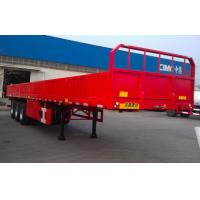 China Durable Cargo Van Trailer Dual Air Brake System High Efficiency 40 Tons wholesale