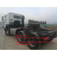 China 420hp Sinotruk Howo7 Tractor Truck 6x4 10 Wheels HW76 Cabin For Tow 50T wholesale