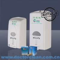 China 1000ml Plastic Healthcare Medical and Surgical Hygiene Disinfection Alcohol Sanitizer Dispenser wholesale