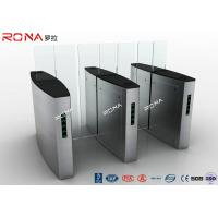 China RFID Card Reader Automatic Sliding Barrier Gate Access Control 30~40 Persons / Min wholesale