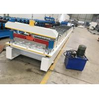 China High Capacity Sheet Metal Roll Forming Machine / Roofing Sheet Making Machine on sale