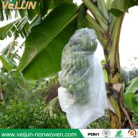Buy cheap banana bag, biodegradable nonwoven banana cover for fruit protection, banana bunch cover from wholesalers