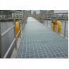 China Galvanized Bar Grating Mesh , Industrial Floor Grates For Platform / Parking Lot wholesale