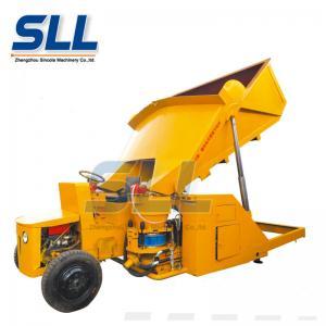 China Diesel Self Loading Dry Concrete Shotcrete Machine 15m3/H With 1 Year Warranty wholesale