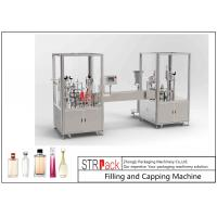 China 30 BPM Perfume Filling And Capping Machine With PLC And Touch Screen Control wholesale
