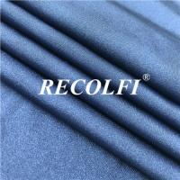 China 4 Way Stretch Water Wicking Fabric , Color Solid Recycled Nylon Fiber For Bikinis wholesale